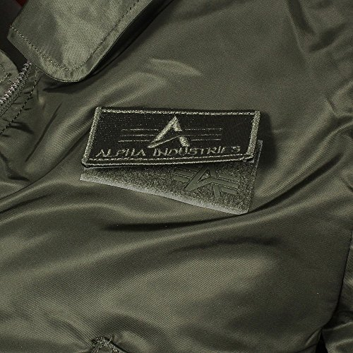 Alpha Industries CWU LW PM Giacca Bomber Dark Green