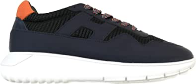 Hogan Scarpe Uomo Sneaker interactive3 MOD. Allacciato HXM3710AJ11M0F786F Blu