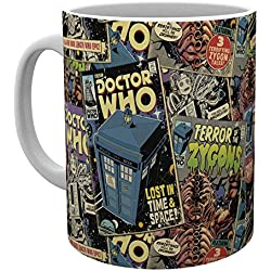 GB eye LTD, Doctor Who, Comic Books, Taza