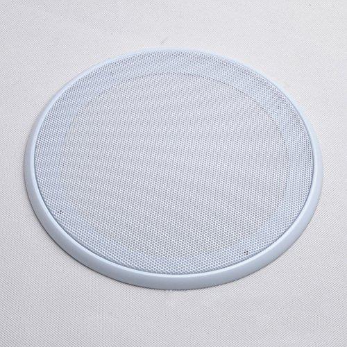 szdc88 Auto-Stereo-Subwoofer-Lautsprecher Mesh-Design Abdeckung/Grill-Netz Schutzgitter Staubschutz 4 Zoll / 5 Zoll / 6,5 Zoll / 8 Zoll Car Audio Speaker Grill(8inchWeiß) (Car-audio-mesh)