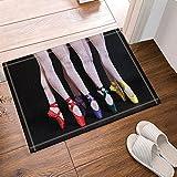 Cdhbh ballerini e danza scarpe da bagno tappeti antiscivolo pavimento Entryways indoor outdoor anteriore zerbino,15.7x 23.6in tappetino da bagno