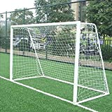 Best Football Goals - HitTime 10x6.5ft Full Size Football Soccer Goal Post Review