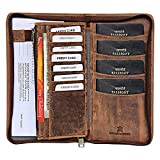 Best International Travel Purses - Valentine Gift For Your Loved Ones-Style98 Brown H Review