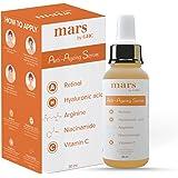 mars by GHC Anti Ageing Face Serum with 5% Niacinamide, 1% Retinol, Hyaluronic Acid, Arginine, Vitamin C  Collagen Booster, F