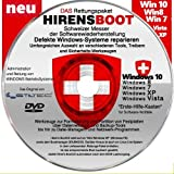 Notfall-CD für Windows Betriebssysteme inkl. Windows PE Umfangreicher