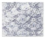 Kavka D vbl-vps-40X 30-mgt2025Sandoval blau Velourssamt Decke, blau