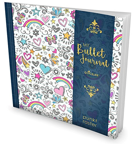 GOCKLER My Bullet Journal: Punktraster Notizbuch mit 100+ Seiten || Inkl. Register, Seitenzahlen,...