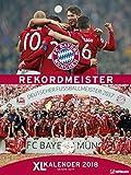 FC Bayern Kalender 2018 - Posterkalender, Fußballkalender, Fankalender - 48 x 64 cm - teNeues