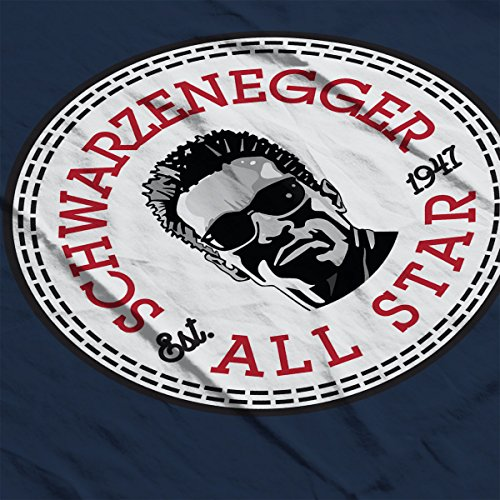 Arnold Schwarzenegger All Star Converse Logo Women's Vest Navy blue