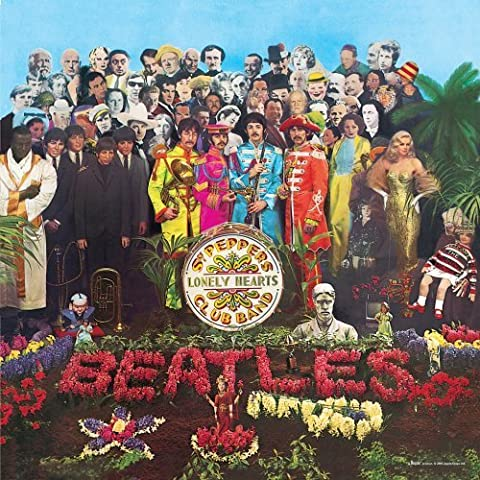 Beatles Sgt Pepper 1000 Piece Jigsaw by Susan Prescot Games