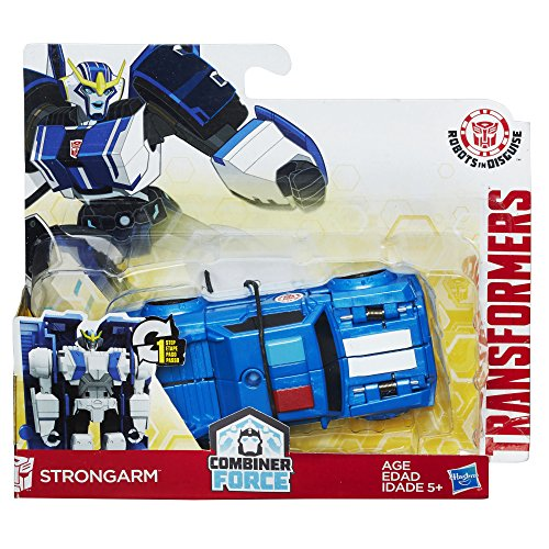 Hasbro Transformers Robots in Disguise Combiner Force 1-Step Changer Strongarm, Blue