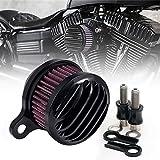 Motorrad Luft sauberer Lufteinlass Filter für Harley Sportster XL 883 1200 1988–2015 carburated Kraftstoff und injiziert Modelle
