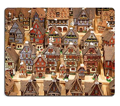 luxlady Gaming Mousepad Bild-ID: 24859026Elsässisches Modell Häuser auf der Weihnachtsmarkt