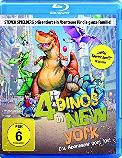4 Dinos in New York / We're Back! A Dinosaur's Story (1993) ( ) (Blu-Ray)