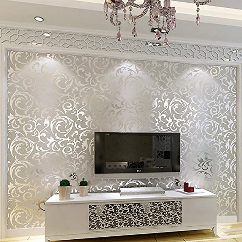 non-woven-flocking-damask-embossed-wallpaper-wall-paper-rolls-silver-silver