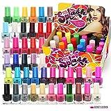 Splash 48 x Nagellack Set 48 Verschiedene Moderne Farben Schnell Trocknend
