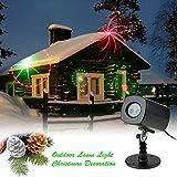 Tomshine LED Proiettore Lampada di Prato Natale Festa Party Riflettore Dinamico Colori Modello ...
