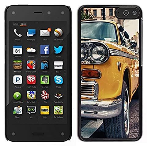 Smartphone Hard PC Case Protective Cover for Amazon Fire Phone / Phone Case TECELL Store / CLASSIC VINTAGE NEW YORK TAXI