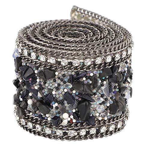 Cinta Diamantes,3.5cmX1m Filas Diamantes Decorativo