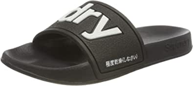Superdry Women's Pool Slide Beach & Pool Shoes, Small