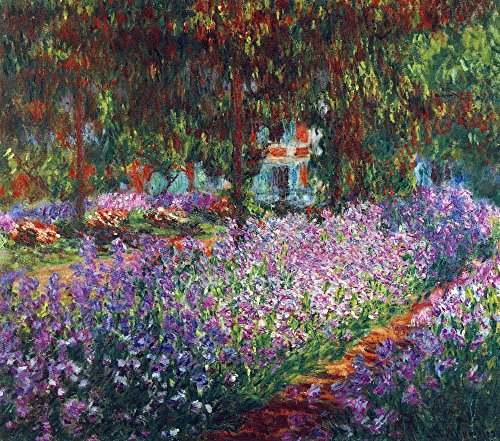 Giverny, Monet-museum (Das Museum Outlet - Monet 's Garden in Giverny by Monet - Poster (61 x 45,7 cm))