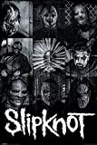 Empire merchandising 671929 de Slipknot, máscaras, Póster de Heavy Metal Hard Rock, de tamaño de 61 x 91,5 cm