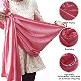 topind verstellbar Baby Sling Wrap Carrier Infant Wasser Ring Sling Ring Kleinkind mit Aluminium Ring