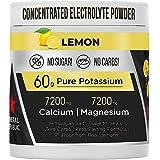 Eerlijk elektrolytpoeder: krachtige suikervrije elektrolyten/nul calorieën Keto-elektrolyten met magnesium, geconcentreerd ka