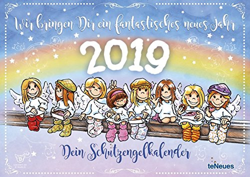 Schutzengel 2019: Dein Schutzengel-Kalender