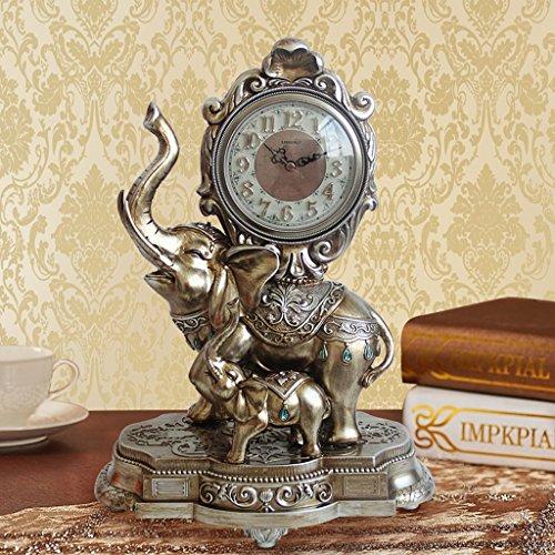 Estilo Europeo Relojes Retro Salón Relojes Elefantes Decoración Decoración Relojes Individualidad Creative...