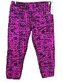 Calvin Klein Damen Print Leggings Tights Hose Fitnesshose Sporthose L