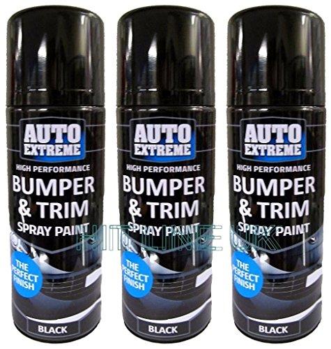 3-x-black-auto-extreme-plastic-bumper-trim-spray-can-restorer-car-bike-auto-paint-200ml-cans-new-hlu