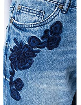 Only Onltonni BF DNM Jeans EMB Bj, Mujer, mujer, turquesa, 26
