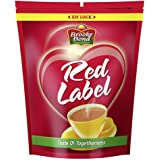 Brooke Bond Red Label Tea, Blend Of Tea Rich In Healthy Flavonoids, Makes Tasty And Healthy Chai, 1 kg (Premium Blend)