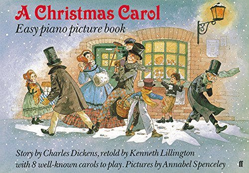 A Christmas carol : easy piano picture book
