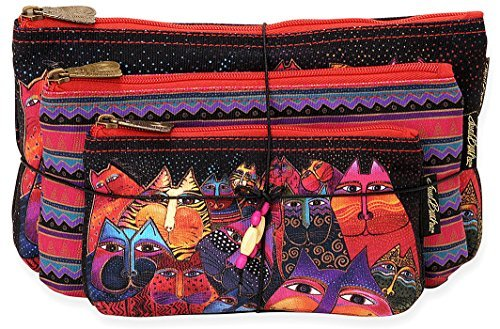 laurel-burch-three-in-one-cosmetic-bag-set-fantasticats-by-laurel-burch