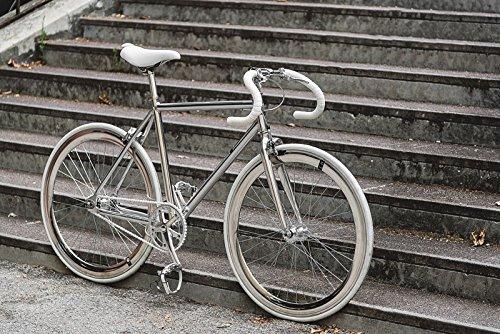 Bicicletta MBM Metal Fixed scatto fisso o libero tutta in alluminio in due misure (telaio 53)