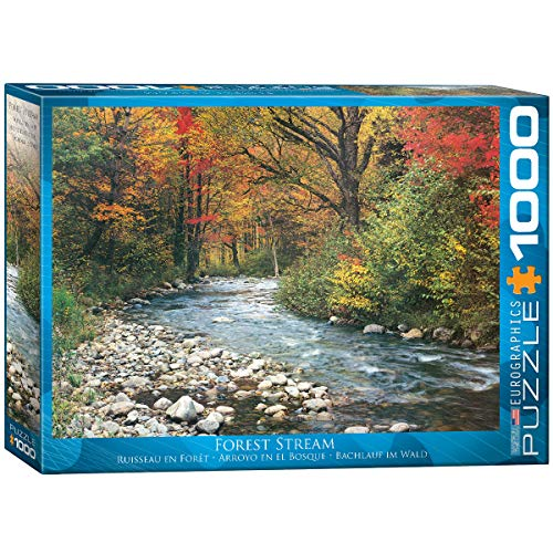 "Jigsaw Puzzle 1000 Pieces 19.25""X26.5""-Forest Stream"