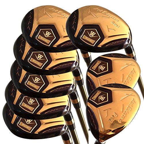 japan-wazaki-14k-gold-finish-cyclone-4-sw-mx-steel-hybrid-irons-golf-club-set-headcover-pack-of-16