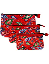 Multi Purpose Pouches And Bag(Set Of 3 L/M/S)Digital Printed - B019F9YL0Q