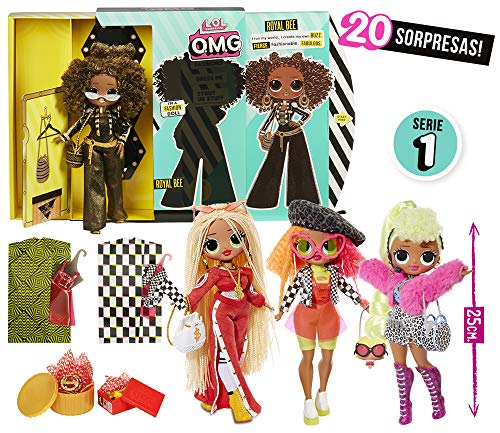 LOL Surprise - Top Secret Dolls - 4 Modelos Surtidos (Giochi Preziosi LLU95000)