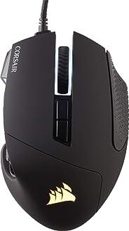 Corsair Scimitar ELITE RGB Optisch MOBA/MMO-Gaming-Maus (18.000 DPI Optisch Sensor, 17 Programmierbare Tasten, Dynamische Vi