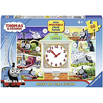 Ravensburger 09604 Thomas And Friends Night Work Glow in the Dark Jigsaw Puzzle