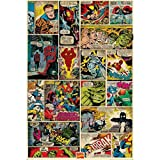 Marvel Comic Panels Poster Maxi, Multicolore