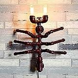 Ganeep Loft Stil Kreative Spinne Wasserleitung Lampe Industrielle Vintage Wandleuchten Leuchten Für Edison Wandleuchte Innenbeleuchtung