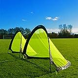 FORZA Flash Pop-Up Fußballtor (Paar), verfügbar in 0.76m, 1.21m & 1.82m für sofortigen Spaß! (1.21m)
