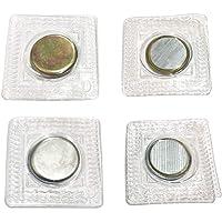 Anyasen Aimant a Coudre 30 Paires Boutons Magnétiques Aimant Néodyme de Boutons Pression magnétiques à Coudre cachés…