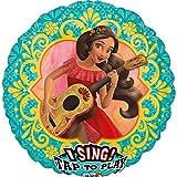 Amscan 3667801-Globo de Sing a de Tune Elena de avalor
