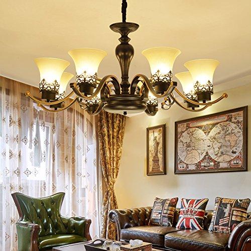 Acryl Schatten-tischleuchte (Xue-Hrestaurant licht, beleuchtung, amerikanische kreative kronleuchter, einfach nach hause, dekoration, stoff kronleuchter, wohnzimmer, arbeitszimmer, teehaus, lampen und laternen)
