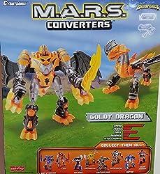 Cybotronix M.A.R.S. Converters - Goldy Dragon